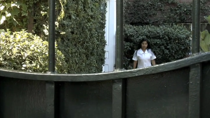 6. Mercedes (Mercedes Villanueva) at the gate